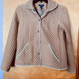 Chaps Medium Quilted Jacket